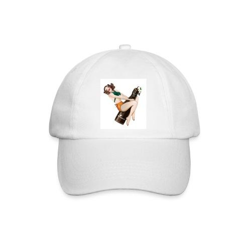 lady on the bottle cap - Baseballkappe