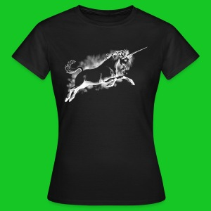 Unicorn wit dames t-shirt - Vrouwen T-shirt