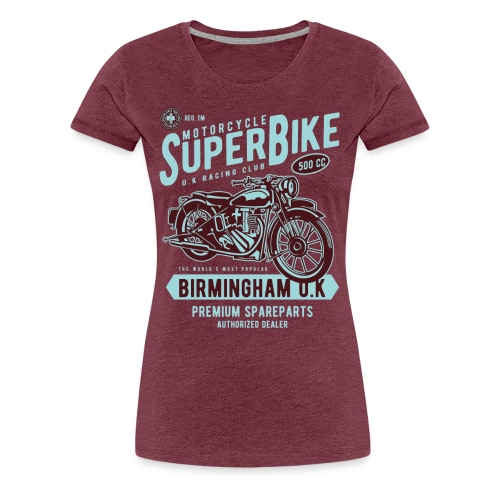 Ladies Premium - SuperBike Tshirt - Women's Premium T-Shirt