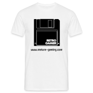 T-Shirts ~ Men's T-Shirt ~ Retro floppy