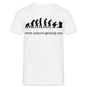 Gamers evolution - Men's T-Shirt
