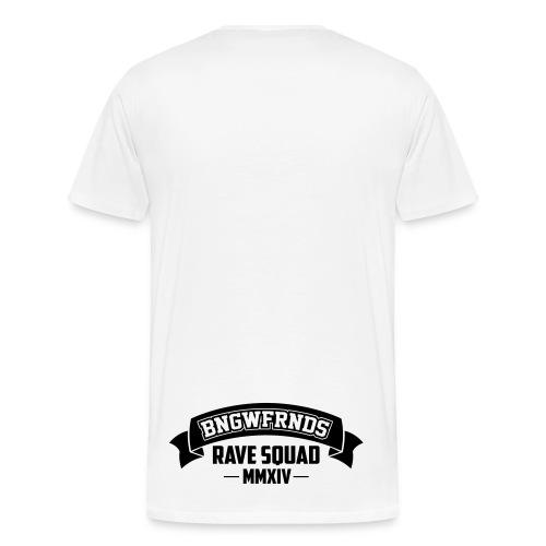 Rave Squad Männer Premiumshirt (+Backprint!) - Männer Premium T-Shirt