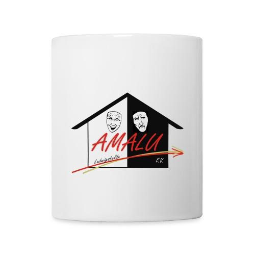 Tasse mit Amalu Logo vorne - Tasse
