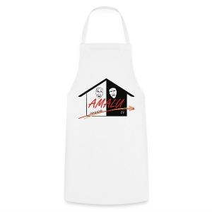 Schürze mit Amalu Logo - Kochschürze