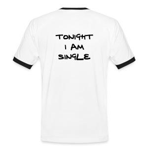 tonight i am single - Mannen contrastshirt