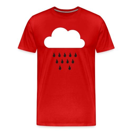 Männer Premium T-Shirt Wappenregen - Männer Premium T-Shirt