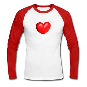 Love'shirt - T-shirt baseball manches longues Homme