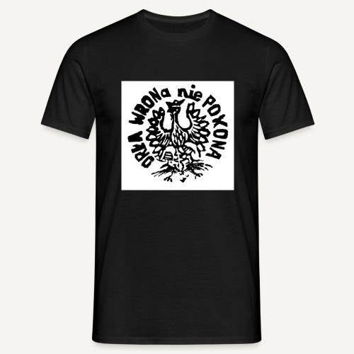 Orła wrona nie pokona. - Koszulka męska