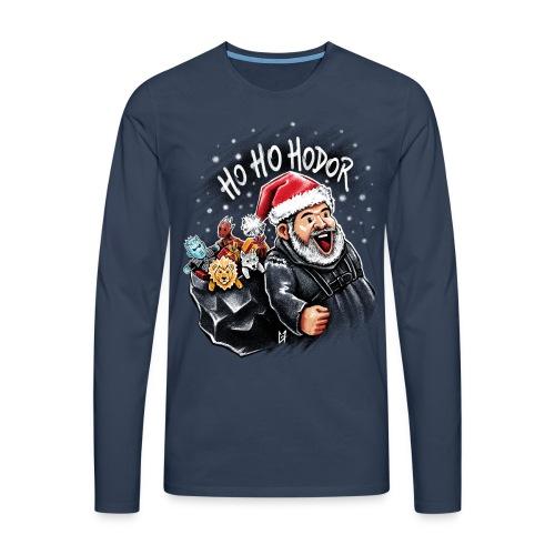 Ho Ho Hodor - Men's Premium Longsleeve Shirt