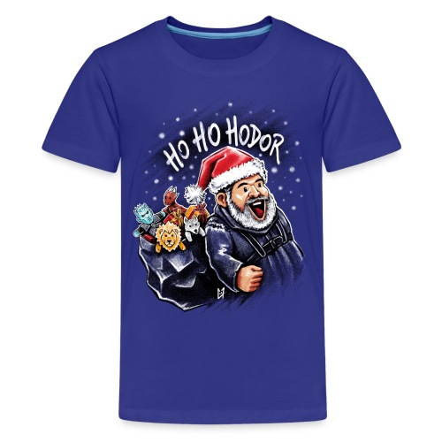 Ho Ho Hodor - Teenage Premium T-Shirt