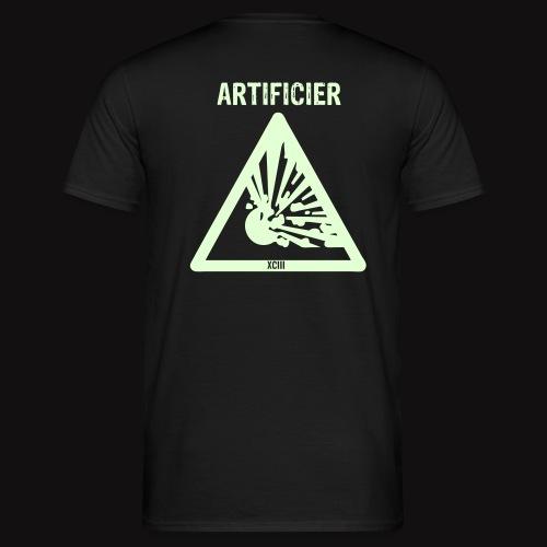 tshirt artificier phospho - T-shirt Homme