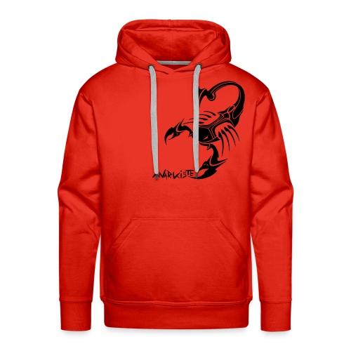 sweat capuche   Tribal scorp 3D - Sweat-shirt à capuche Premium pour hommes