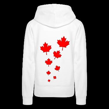 Blanc canada style Sweatshirts