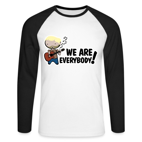 Camiseta Lost, Charlie, We are everybody - chico manga larga - Raglán manga larga hombre