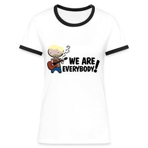 Camiseta Lost, Charlie, We are everybody - chica manga corta - Camiseta contraste mujer