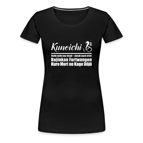 Premium Shirt Kunoichi 2017 - schwarz - Frauen Premium T-Shirt
