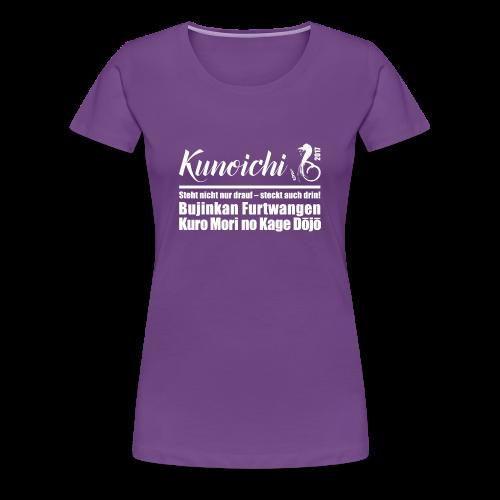 Premium Shirt Frauen Kunoichi 2017 - lila - Frauen Premium T-Shirt