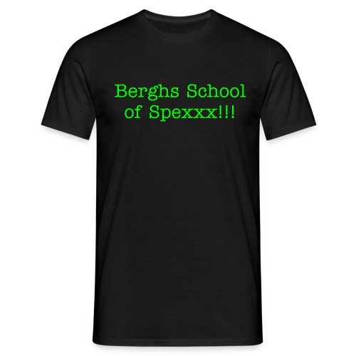 Berghs School of Spexxx!!! Original T! :-D - T-shirt herr