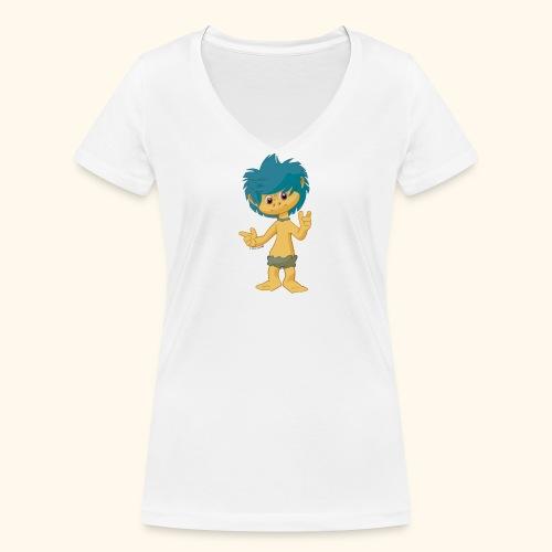 Frauen Bio-T-Shirt mit V-Ausschnitt  Plumps - Frauen Bio-T-Shirt mit V-Ausschnitt von Stanley & Stella