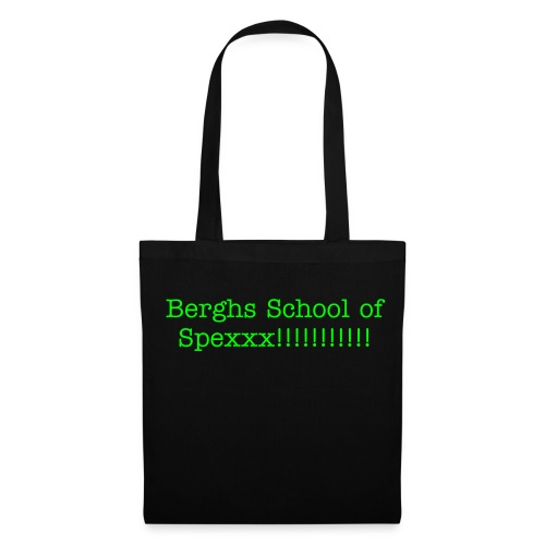 Berghs School of Spexxx!!! Original asgrym och fantastisk bag!! - Tygväska
