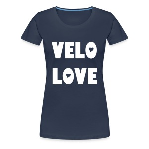 Velo Love - I'm in love with my bicycle. (women) - Frauen Premium T-Shirt