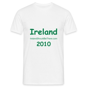 MEN - 2010 Ireland White - Men's T-Shirt