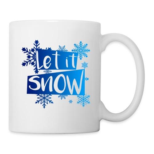 Let it Snow Tasse | Weihnachten - Mug