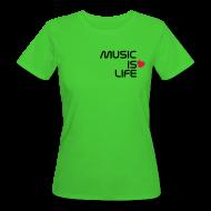 Camisetas ~ Camiseta ecológica mujer ~ Music Loves Me - Chica