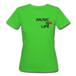 Music Loves Me - Chica - Camiseta ecológica mujer