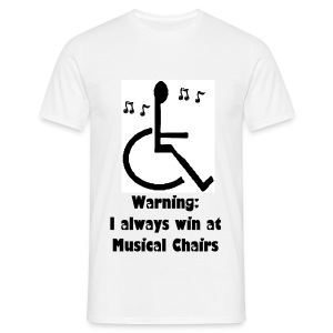 Musical Chairs - Men's T-Shirt