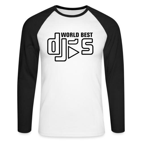 World Best DJ's - Men's Long Sleeve Baseball T-Shirt