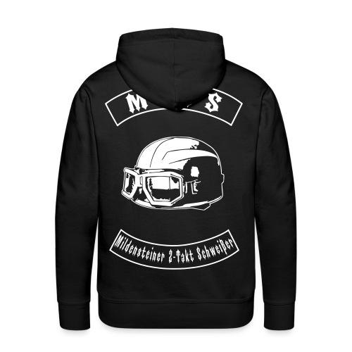 M2TS Support Pullover mit WUNSCHNAMEN - Männer Premium Hoodie