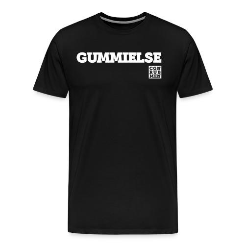 GUMMIELSE weiß - Männer Premium T-Shirt