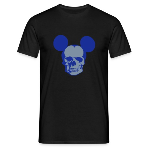 Mouse-Skull - Männer T-Shirt