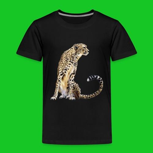 Cheetah kinder t-shirt - Kinderen Premium T-shirt
