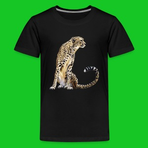Cheetah teenager t-shirt - Teenager Premium T-shirt