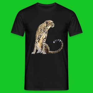Cheetah heren t-shirt - Mannen T-shirt