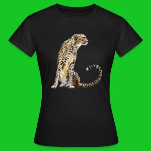 Cheeta dames t-shirt - Vrouwen T-shirt