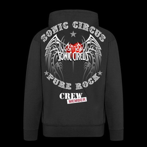 SONIC CIRCUS Pure Rock Crew Member - Männer Premium Kapuzenjacke