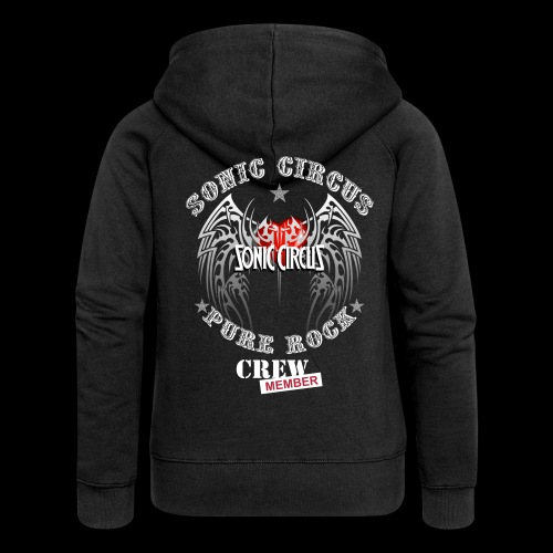 SONIC CIRCUS Pure Rock Crew Member - Frauen Premium Kapuzenjacke