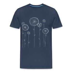 Fahrradblumen (men) - Männer Premium T-Shirt