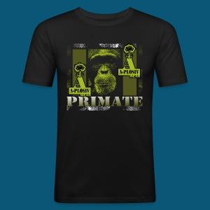 A-Plosiv Primate - Männer Slim Fit T-Shirt