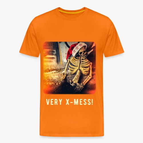 Dead Santa - Very X-Mess! [Premium Shirt For Men] - Männer Premium T-Shirt