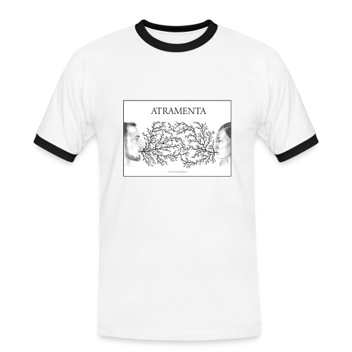 2017 ATRAMENTA HOMME - T-shirt contrasté Homme