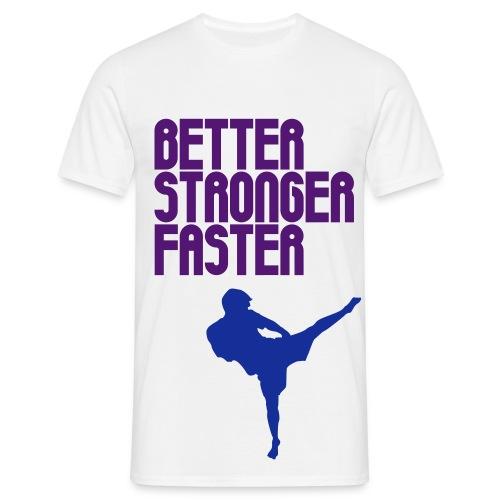 trickz. - BSF. fighta - Men's T-Shirt