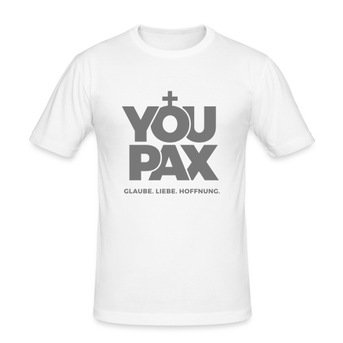 YOUPAX Herren-Shirt - Männer Slim Fit T-Shirt