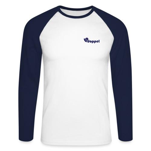 Doppel Records - Men's Long Sleeve Baseball T-Shirt