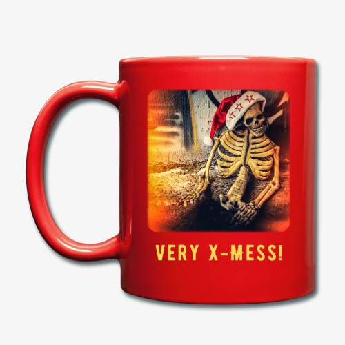 Dead Santa - Very X-Mess! [Becher/Mug] - Tasse einfarbig