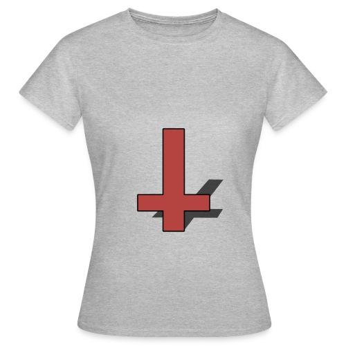 Reversed Red Cross - Female - Women's T-Shirt