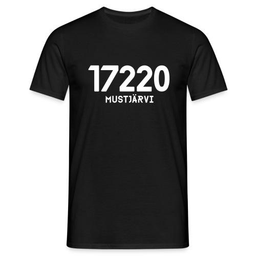 17220 MUSTJARVI - Miesten t-paita